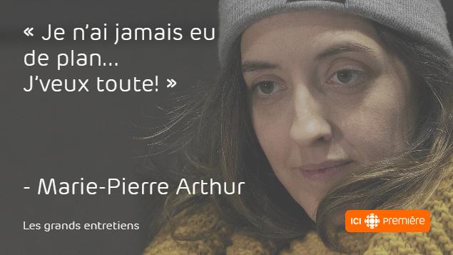 Marie-Pierre Arthur, la musique dans le sang