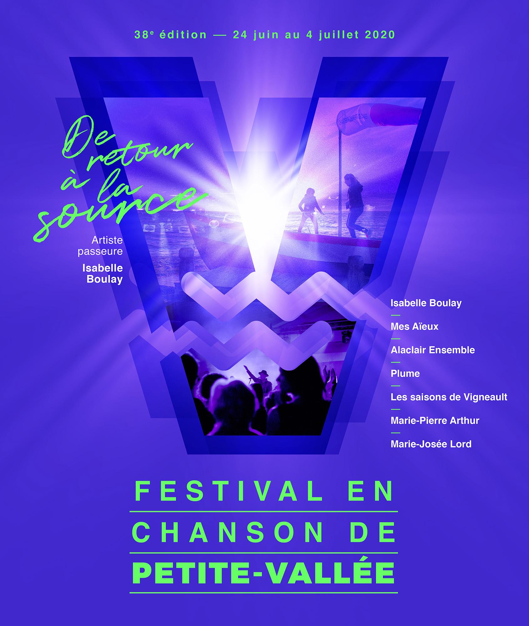 Le Festival en chanson de Petite-Vallée dévoile les premiers noms de sa 38e édition