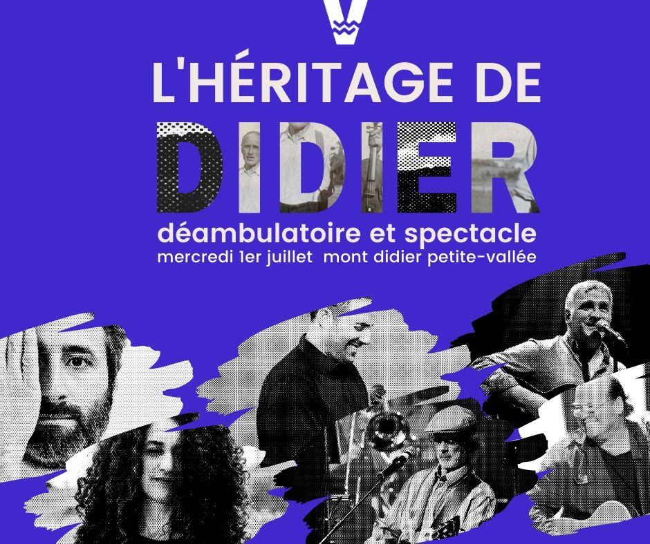 L'héritage de Didier - Déambulatoire musical et spectacle