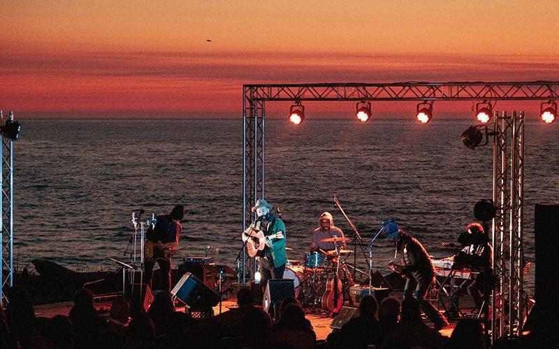 Festival en chanson de Petite-Vallée: contre vents et marées