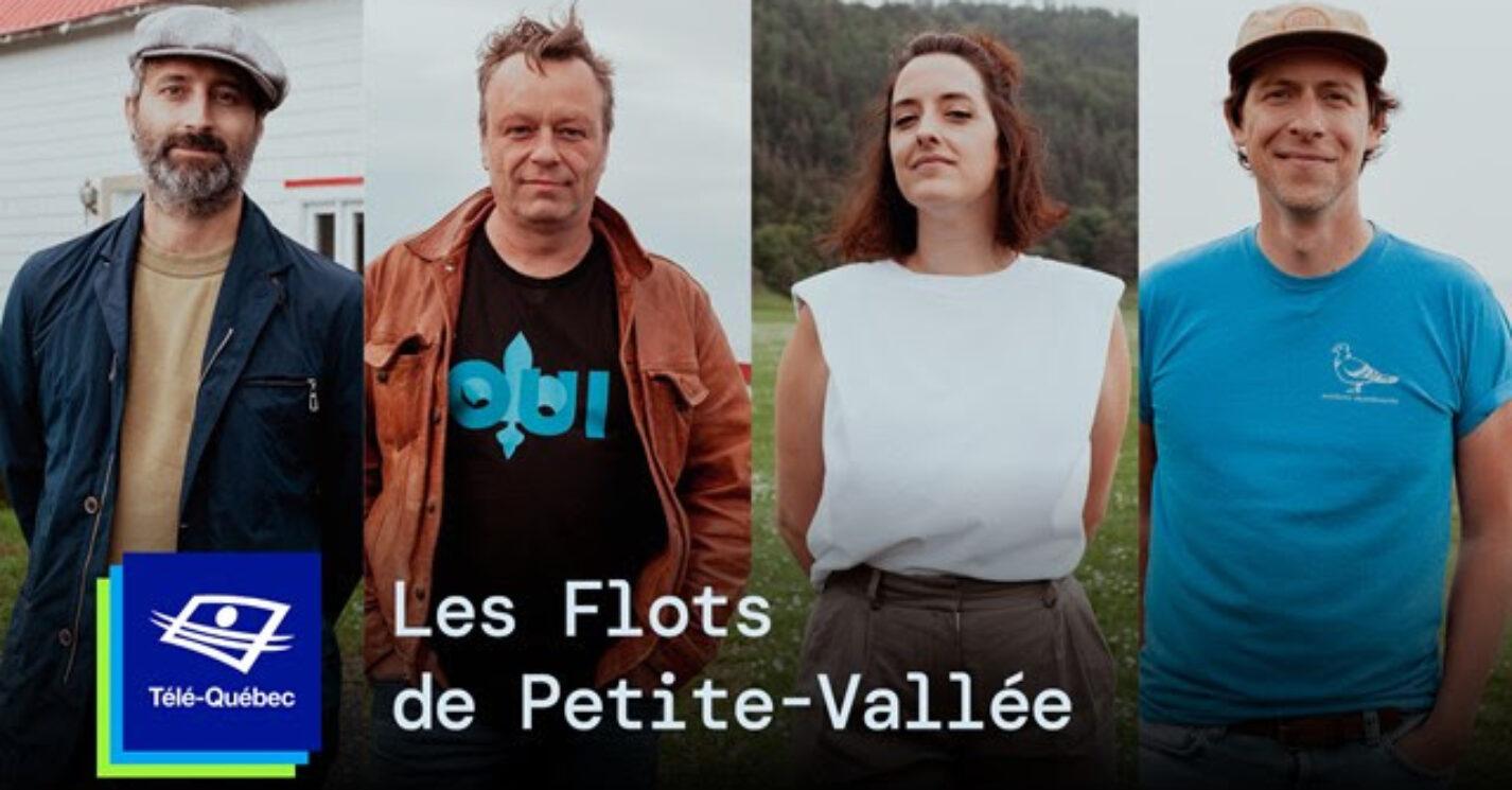 Les flots de Petite-Vallée : une émission spéciale sur le festival à Télé-Québec